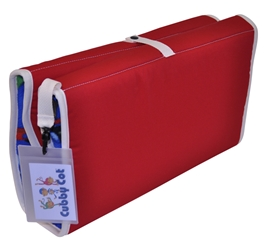 Cubby Cot - Red