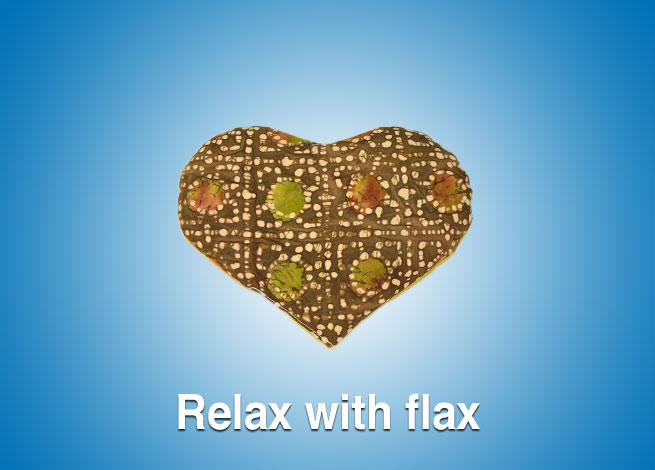 Relax with flax