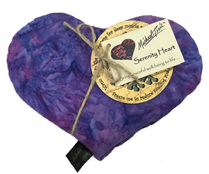 Serenity Heart - Filled with Aromatherapy Herbs